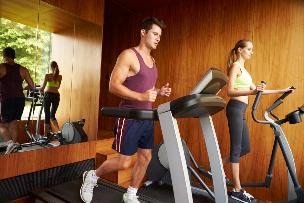 home treadmill cardio