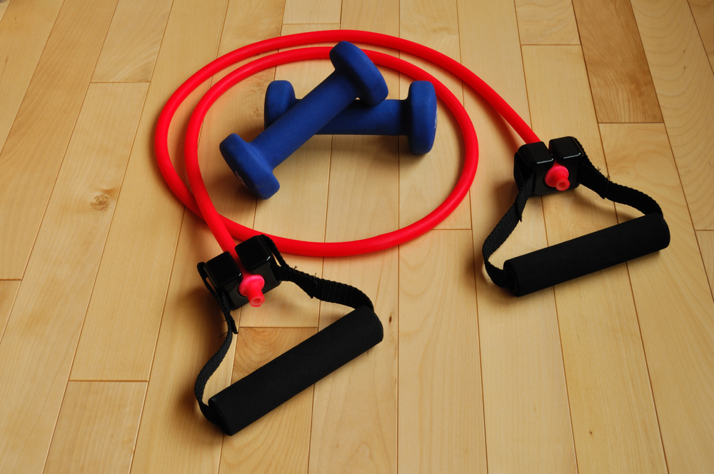 resistance bands weights